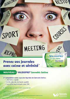 Valdispro, la marque « spéciale » du segment calme et sommeil.
