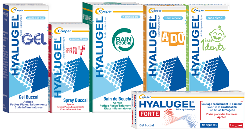Hyalugel, a new leading brand in the Cooper portfolio.