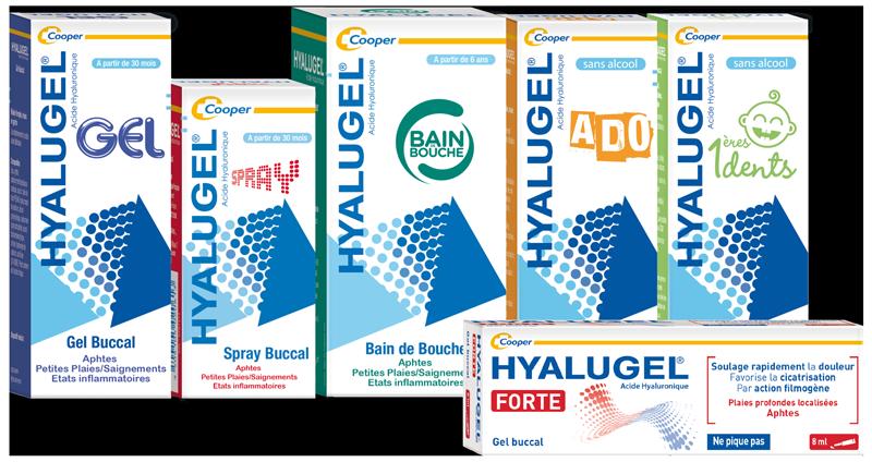 Hyalugel, une nouvelle marque leader dans le portefeuille Cooper.